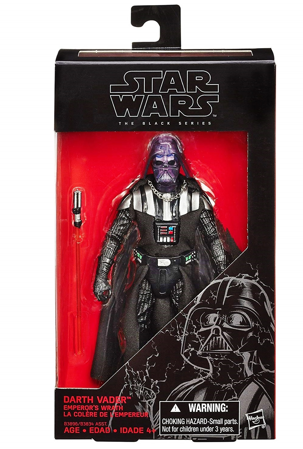 Primary image for Star Wars Darth Vader Emperor's Wrath The Black Series Exclusive 2015