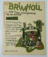 Vintage Song Book Brimhall Easy Organ Arrangements by John Brimhall Issu... - $15.99
