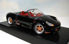 ~ 1993 Porsche Boxster   -  1:18 roadster -  Black Pearl / Copper    MIB - $23.50