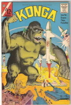 Konga Movie Comic Book #9, Charlton Comics 1962 VERY FINE- - $51.20
