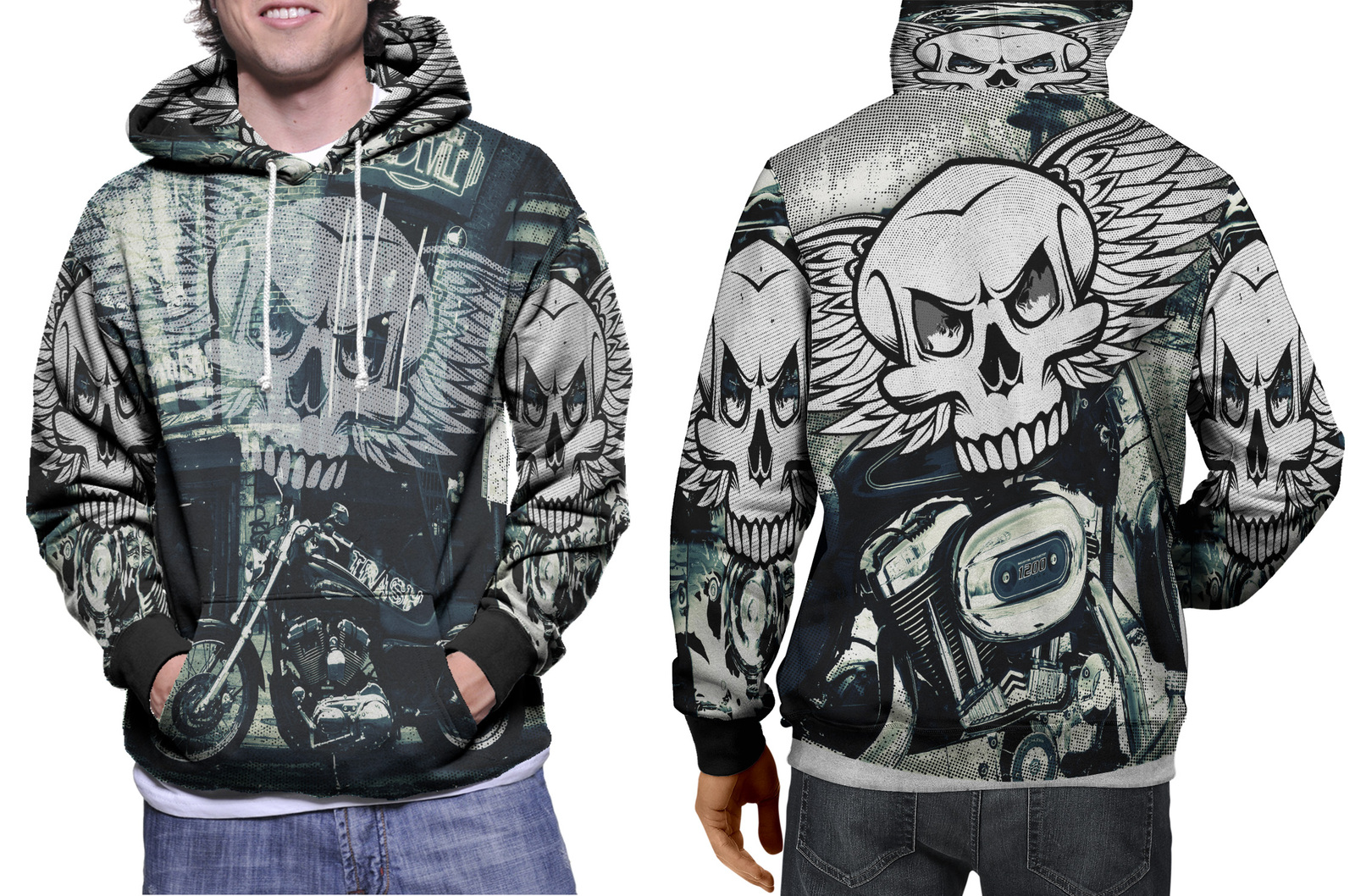 Primary image for Biker Collection #1 Men's Hoodie