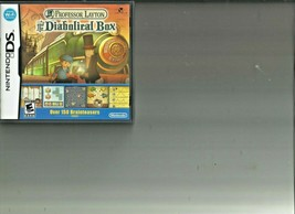 Professor Layton and the Diabolical Box Nintendo DS, Complete - $7.91