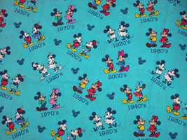 Disney Minnie Mickey Mouse Through the Years Fabric Hair Scrunchie by Sh... - $6.99