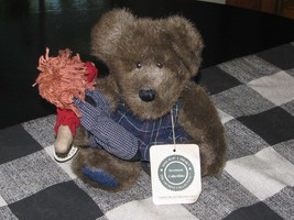 """Vintage Boyd's Bears """"Simon Beanster And Andy"""" Stuffed Animals - $25.00"""