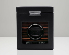 WOLF Roadster 2.7 Single Automatic Watch Winder Storage Box Case NEW - $449.00