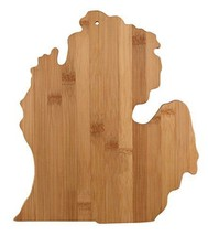 Arrowhead Bay Real Bamboo Cutting and Serving Board, Michigan design - $21.00
