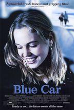 """2002 BLUE CAR Movie 27x40"""" Poster Double-Sided DS Agnes Bruckner Karen M... - $24.99"""