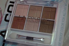 L.A. Colors 6 Color Eyeshadow # BEP434 Almost Nude 0.14 oz. - $4.95