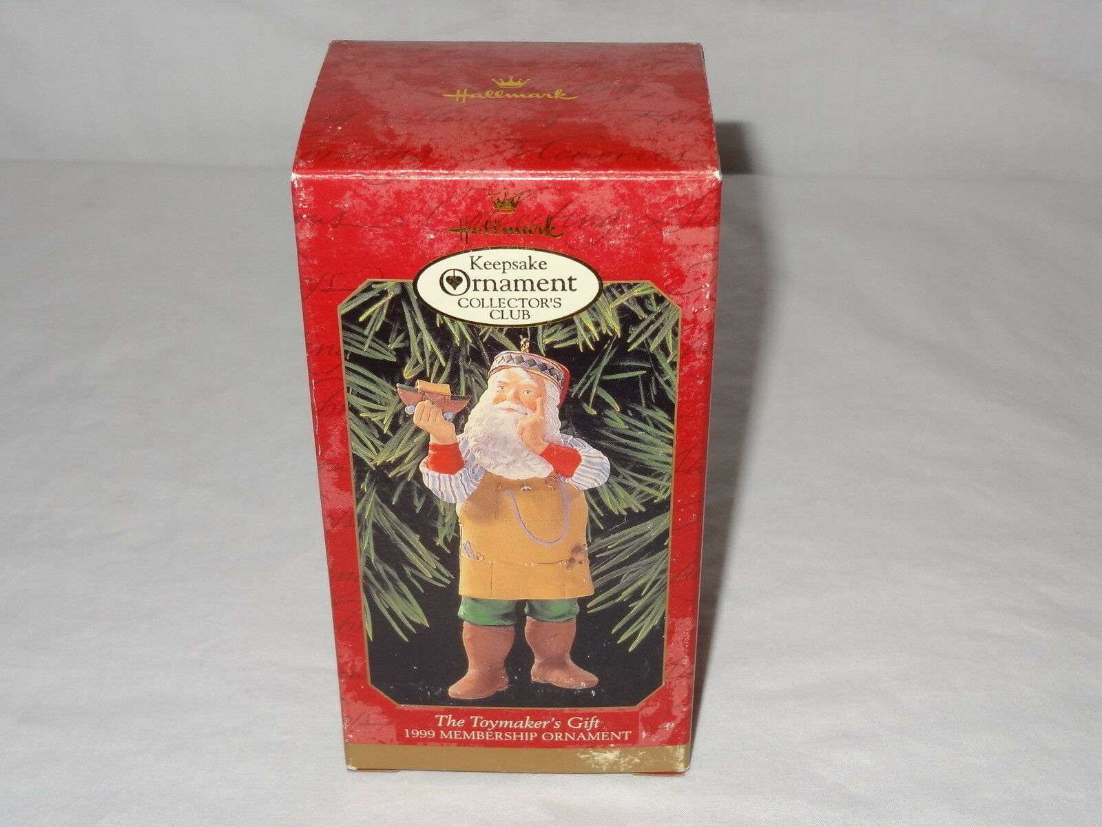 1999 Hallmark Ornaments Toymakers Gift Series Santa Keepsake Collectors Club image 8