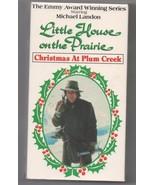 Little House on The Prairie Christmas at Plum Creek 1990 VHS Tape - $7.80