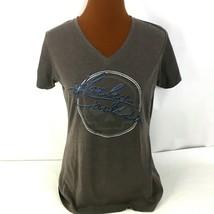 Harley-Davidson Womens V-Neck T-Shirt Short Sleeves Size Medium Chandler... - $26.72