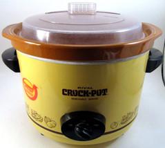 VTG Rival 6 QT Stoneware Removable Server Crock Pot Slow Cooker Ceramic ... - £37.50 GBP
