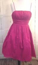 Luella For Target Pink fuschia Sphaghetti Strap Cocktail Party DRESS ~SZ 1 - $15.81