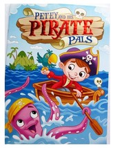 Petey and His Pirate Pals Coloring & Activity Book Vision Street NEW - $2.99