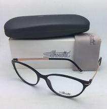 New SILHOUETTE Eyeglasses SPX 1578 75 9020 56-16 135 Black & Bronze Frames image 12