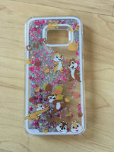 Chip N Dale Sparkle Liquid Glitter Quicksand Case For Samsung Galaxy S7 Edge - $13.99