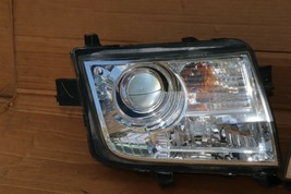 07-10 Lincoln MKX Halogen W/ AFS Headlight Lamp Set L&R  - POLISHED image 2