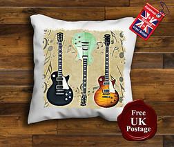 Gibson les paul Guitar, Cushion Cover, gibson les paul Guitar Cushion, U... - £6.84 GBP+