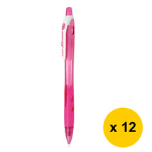 Pilot REXGRIP HRG-10R 0.5mm Mechanical Pencil (12pcs), Clear Pink, HRG-1... - $27.99