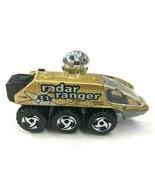 Hot Wheels Mattel Space Series Radar Ranger 1988 Vintage Car Loose - $14.46