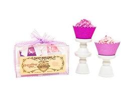 Large Cupcake Bath Bomb Set With Black Raspberry Vanilla & Lavender ... - $29.26
