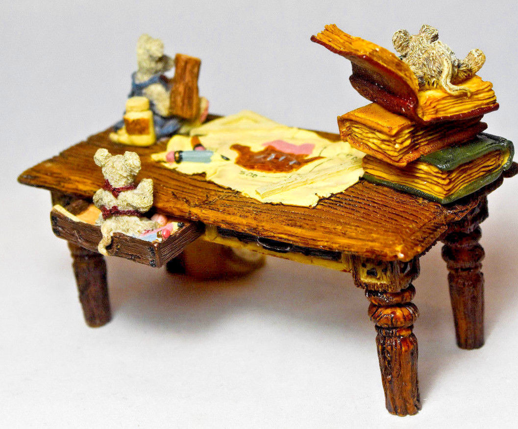 Boyds Bears: Noah's Genius At Work Table - Style 2429 image 5