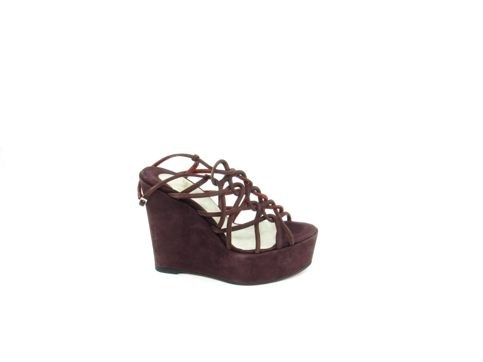 9dcc343f841 Christian Louboutin Purple Suede Wedge and 41 similar items