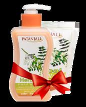 PATANJALI HERBAL WASH COMBO ( Handwash250 ml + Refill Pack 200 ml) - $28.99