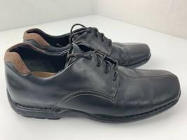 Cole Haan Lace Up Comfort Shoes Men's Size 9.5 M Black co4073j11 - $44.10