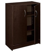 2 Doors Storage Cabinet Cupboard Organizer Shel... - $51.89