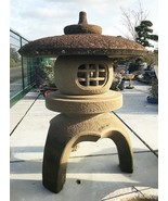 Japanese Stone Lantern Kodai Maru Yukimi Gata - YO01010054 - $10,881.37