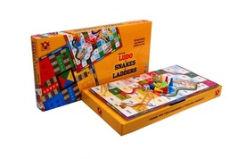 Toys Box Ludo & Snakes & Ladders Medium Age 3+ image 1