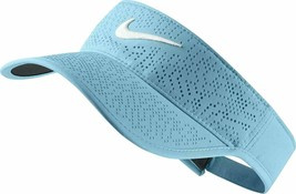 NEW! NIKE Women's Tech Perforated Golf Visor-Vivid Sky/White 742709-432 - $49.88