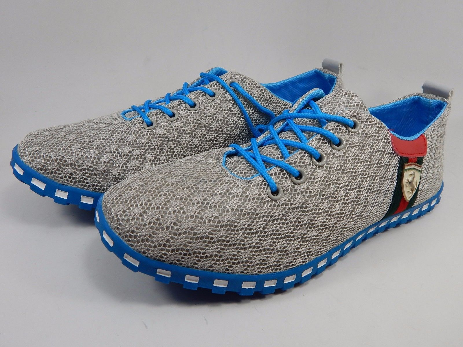 Sport Essential Brand Gray/Blue Men's Athletic Sneakers Size US 10 M (D) EU 44