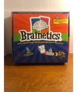Brainetics A Breakthrough Math and Memory System 7 DVDs & Car Travel Boo... - $14.24