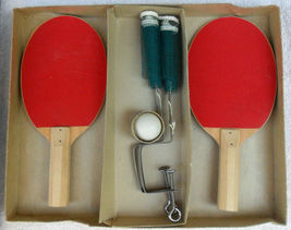 Vintage Table Tennis Game Never Played J. Pressman 1950's  image 3