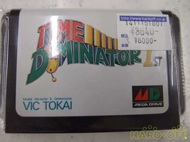 Sega Mega Drive Game Software The Image Is Of Consumption Tax 8 Time Dominator - $142.62