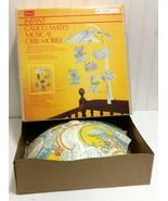Vtg CALICO MATES Umbrella Musical Crib Mobile +Box Critters Brahms Lulla... - $33.37