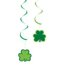 "St. Patrick's Party 24"" paper Shamrocks Dizzy Dangler, Case of 60 - $51.30"