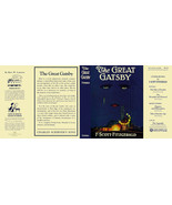 Fitzgerald THE GREAT GATSBY facsimile  jacket for 1st ed/early (NO BOOK) - $21.56