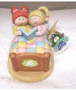 1985 Cabbage Patch Bedtime Story Porcelain Figurine w Original Tag MINT!... - $24.26