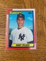 Topps 23 Randy Verlarde Card - $12.75