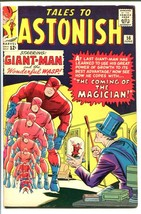 Tales To Astonish #56-GIANT-MAN/WASP-THE MAGICIAN-MARVE FN/VF - $126.10