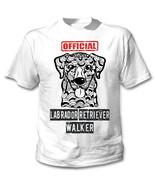 Labrador retriever - official walker - NEW COTTON WHITE TSHIRT - $19.53