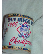 1998 San Diego Padres National League Champions Coffee Cup - $14.00