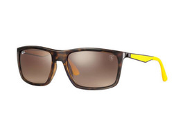 c783e449bfd Ray Ban RB4228M F60913 Sunglasses Tortoise-Yellow Frame  amp  Brown  Gradient.