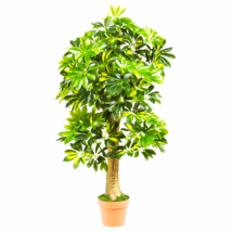 4' Schefflera Silk Tree (Real Touch) - $80.45