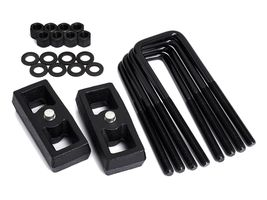 "1"" Rear Steel Lift Kit For 2005-2020 Toyota Tacoma 2WD 4WD Blocks + U-Bolts - $75.00"