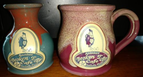 Primary image for DENEEN Studio POTTERY ANOTHER BROKEN SANDESTIN, FL COFFEE Mug and Vase