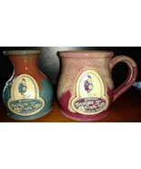 DENEEN Studio POTTERY ANOTHER BROKEN SANDESTIN, FL COFFEE Mug and Vase - $32.54